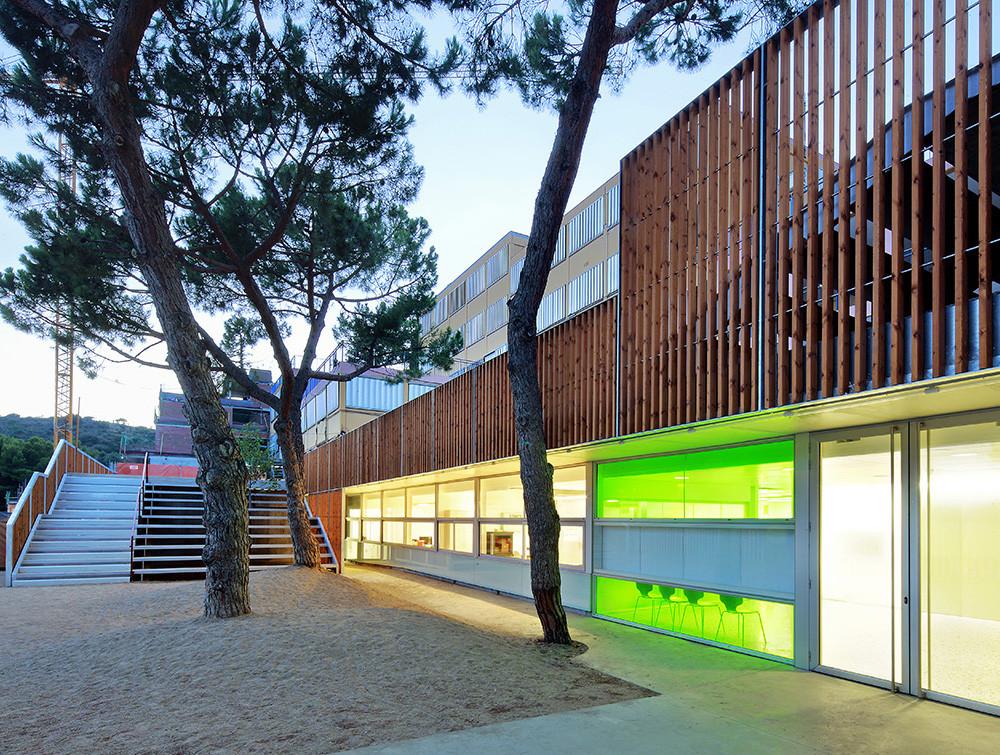 Reforma y Ampliación de la Escuela Sant Gregori / Coll-Leclerc Arquitectos, © Jose Hevia