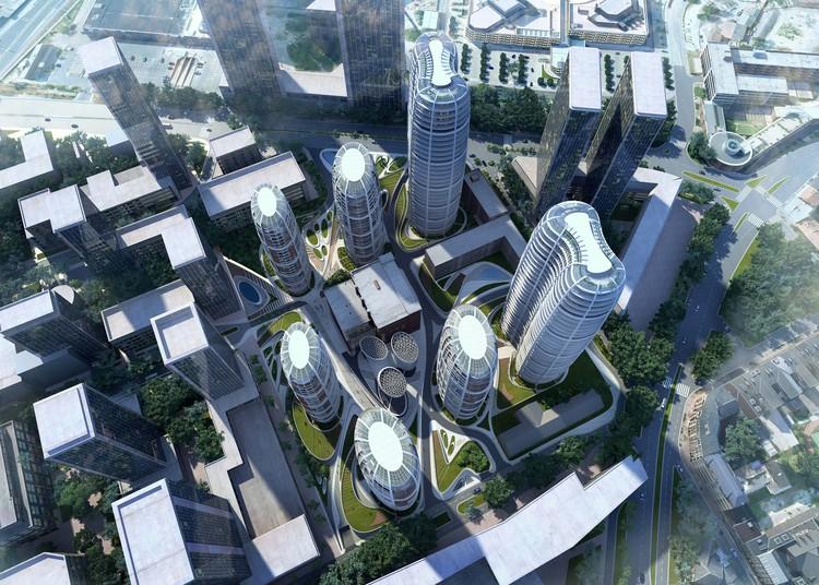 Proposta para o Novo Centro da Cidade de Bratislava Culenova / Zaha Hadid Architects, © Zaha Hadid Architects