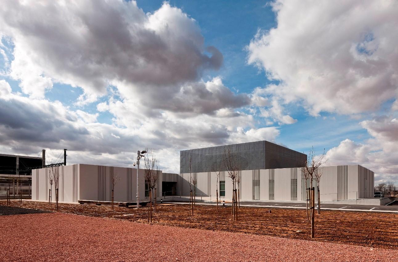 Centro de Regulación y Control Ferroviario / Moreno del Valle Arquitectos, © David Moreno del Valle