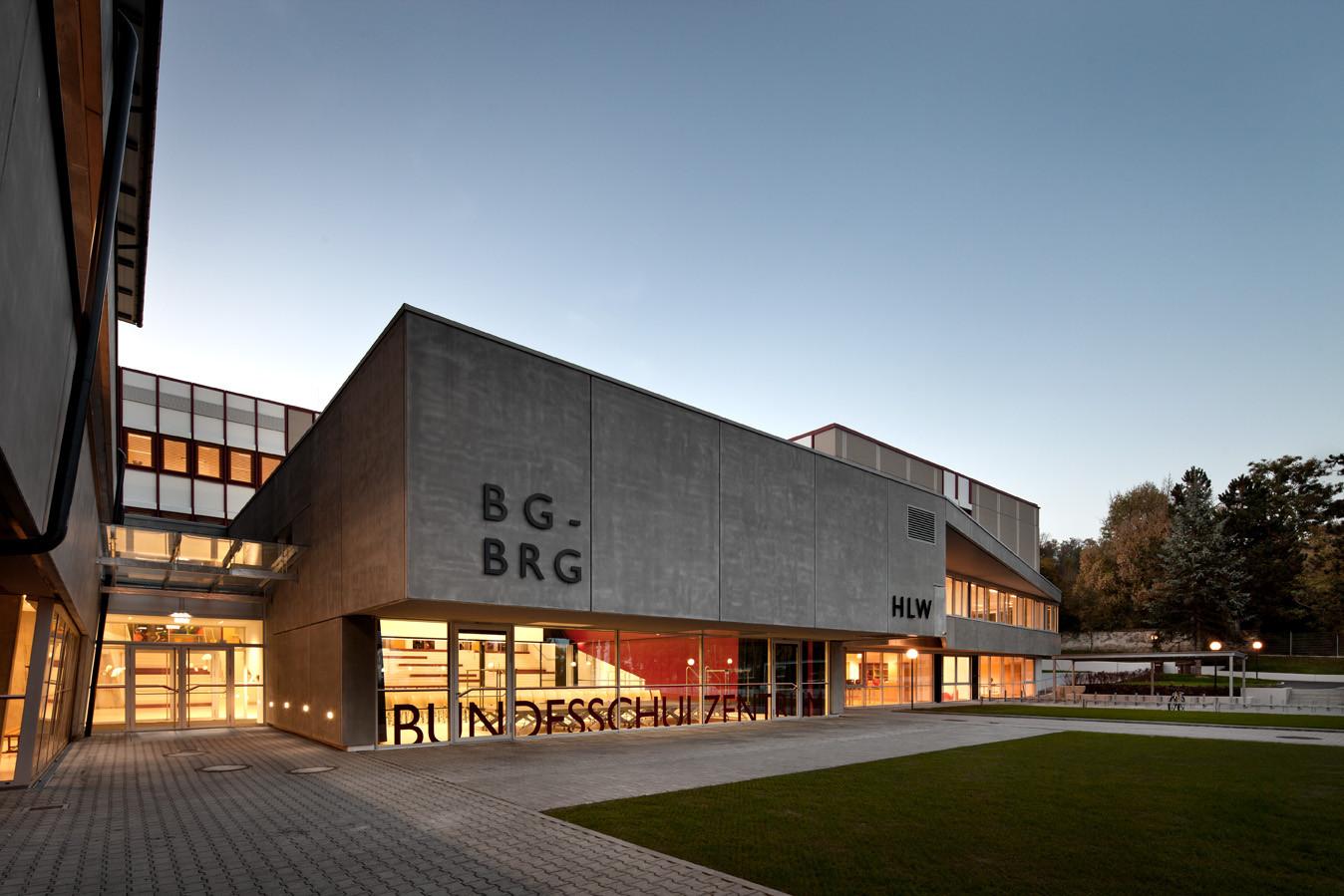 Bundesschulzentrum St. Veit / Spado Architects + halm.kaschnig.wüher architekten, © Kurt Kuball