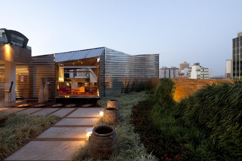Casa Cor Bar / BCMF Arquitetos, © Leonardo Finotti