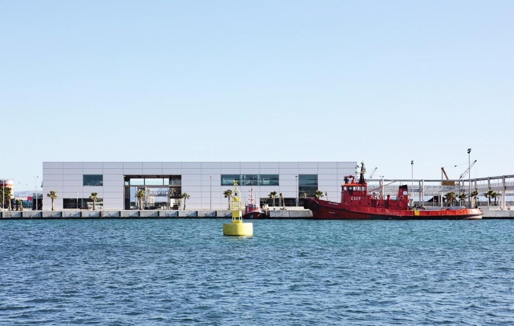 Galer a de estaci n mar tima de alcudia sct estudio de for Arquitectura naval e ingenieria maritima