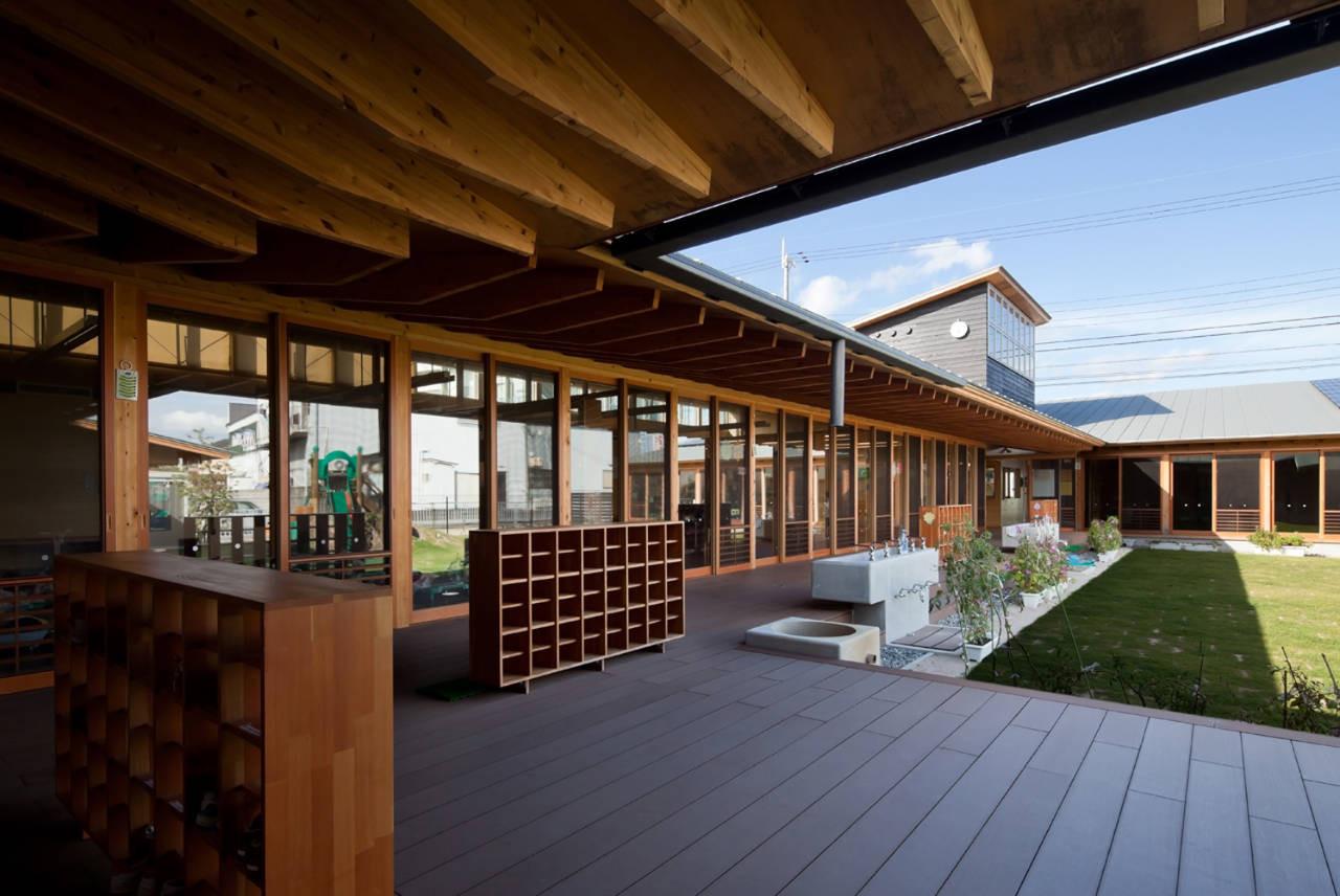 Einosato Jardín Infantil  / Shogo Iwata , © Ogawa Shigeo