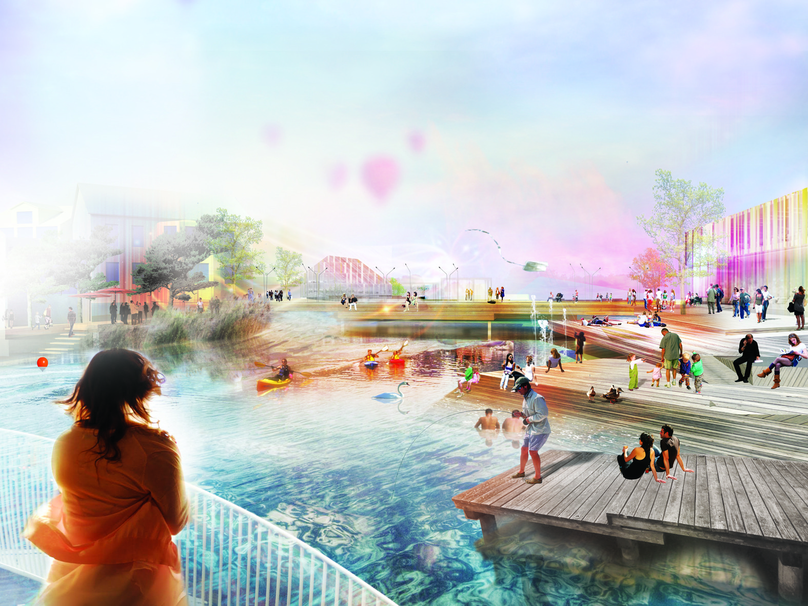 Future Floda Winning Proposal / Mandaworks + Hosper Sweden, Courtesy of Mandaworks + Hosper Sweden