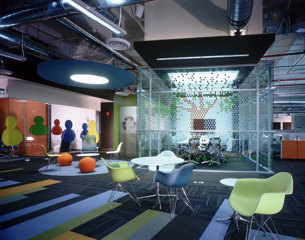 Oficinas Prodigy MSN / SPACE, © Paul Czitrom