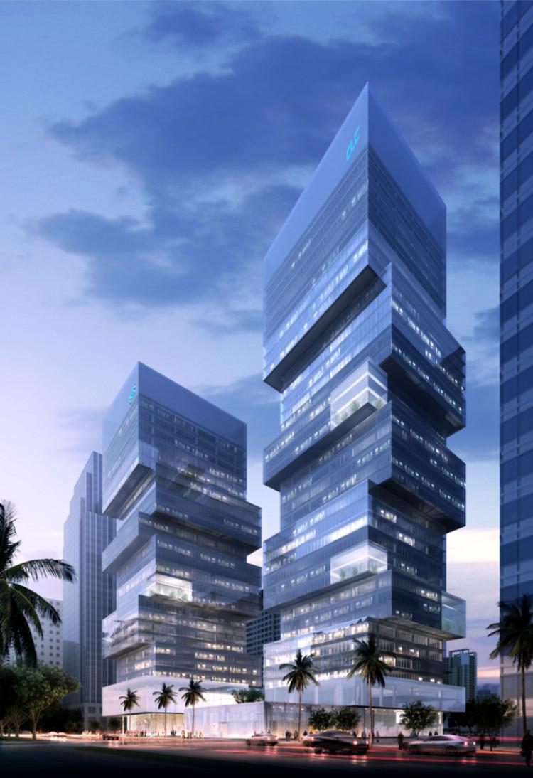 Propuesta de Dos Torres en Shenzhen / Saravia + Associados, © Saravia + Associados
