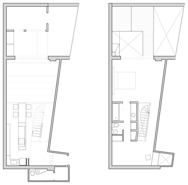 Loft 34 najmias oficina de arquitectura noa for Plantas de arquitectura