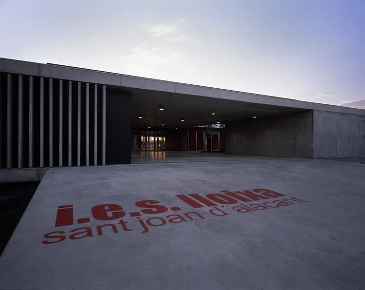Instituto de Enseñanza Secundaria / Orts-Trullenque Arquitectos, © Diego Opazo