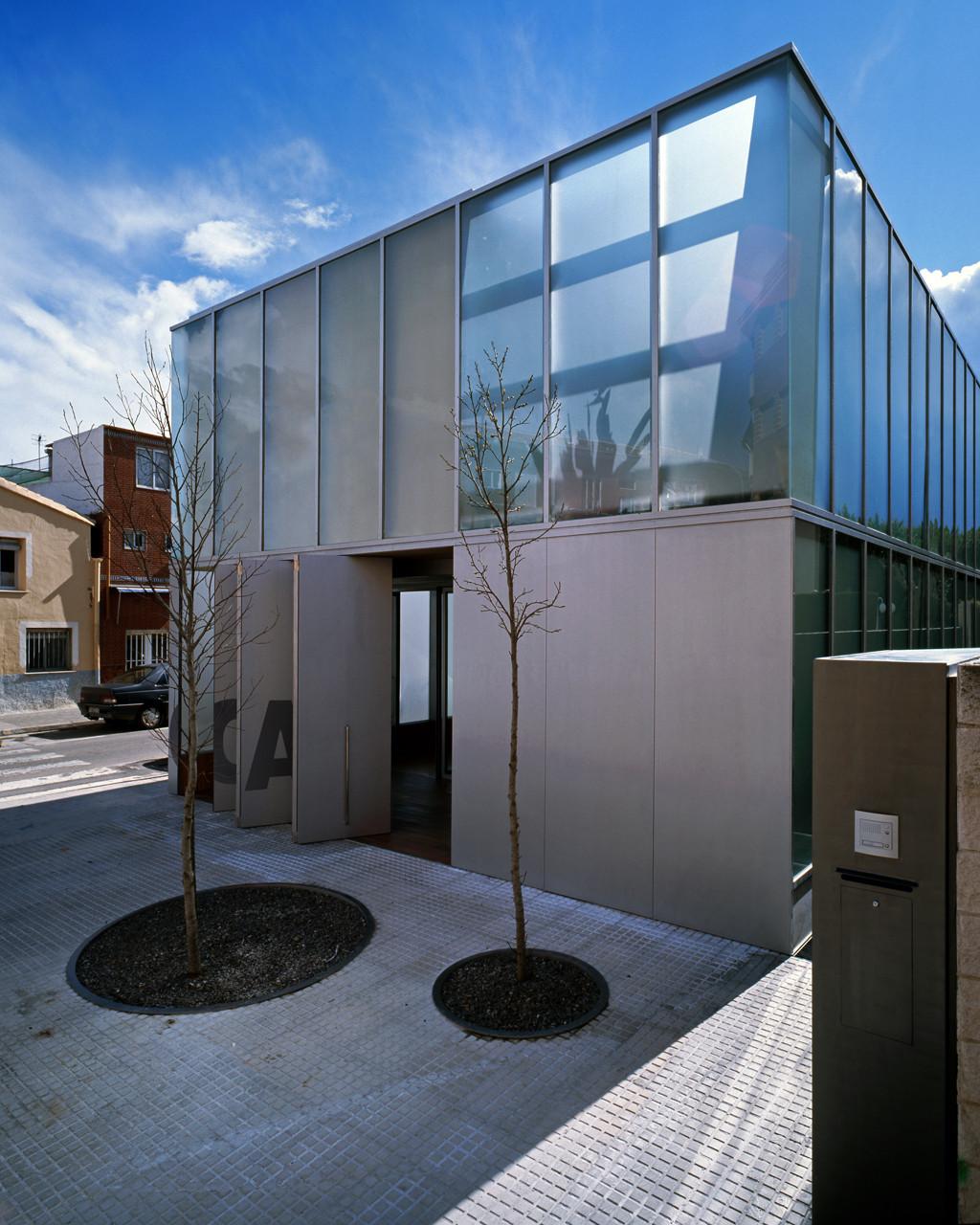 Sede del colegio de arquitectos de la safor orts - Colegio de arquitectos cadiz ...