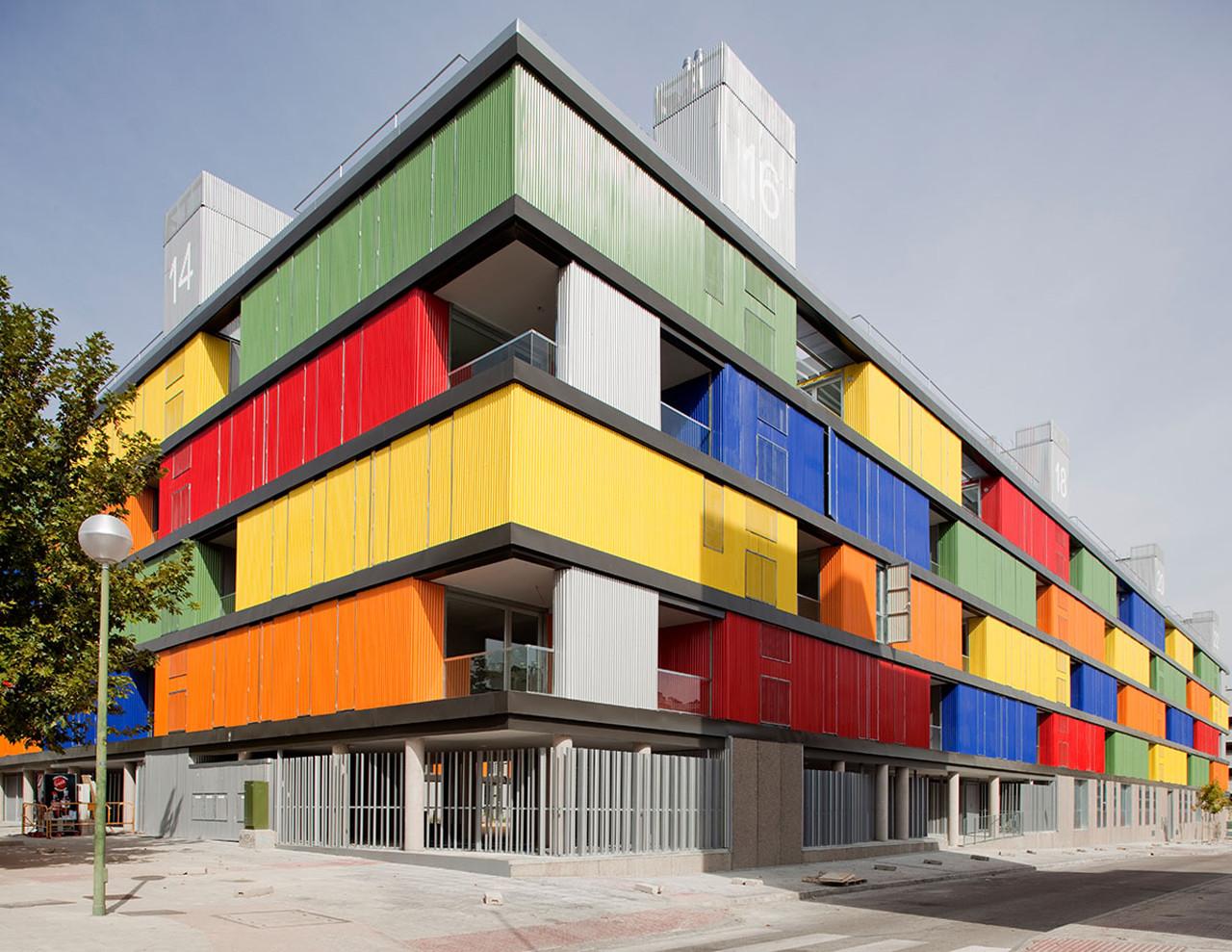 82 viviendas en carabanchel acm arquitectos plataforma for Restaurante escuela de arquitectos madrid