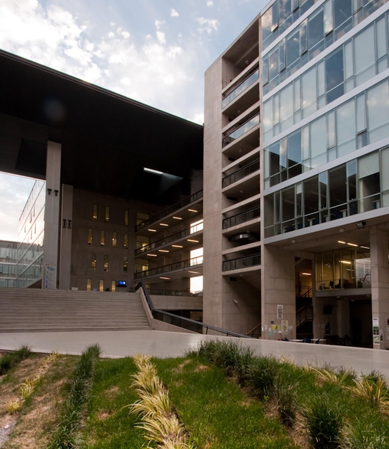 Edificio Campus Almagro Norte U. Central de Chile / Marsino Arquitectos Asociados, © Aryeh Kornfeld