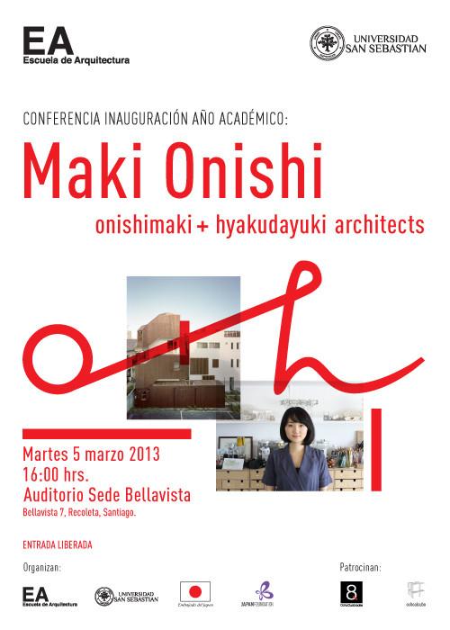 Maki Onishi: Conferencia abierta en la USS