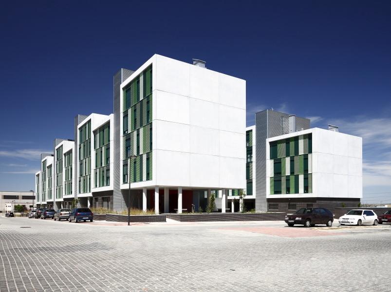 120 viviendas de protección pública en Parla / Arquitecnica, © Aitor Estévez Olaizola