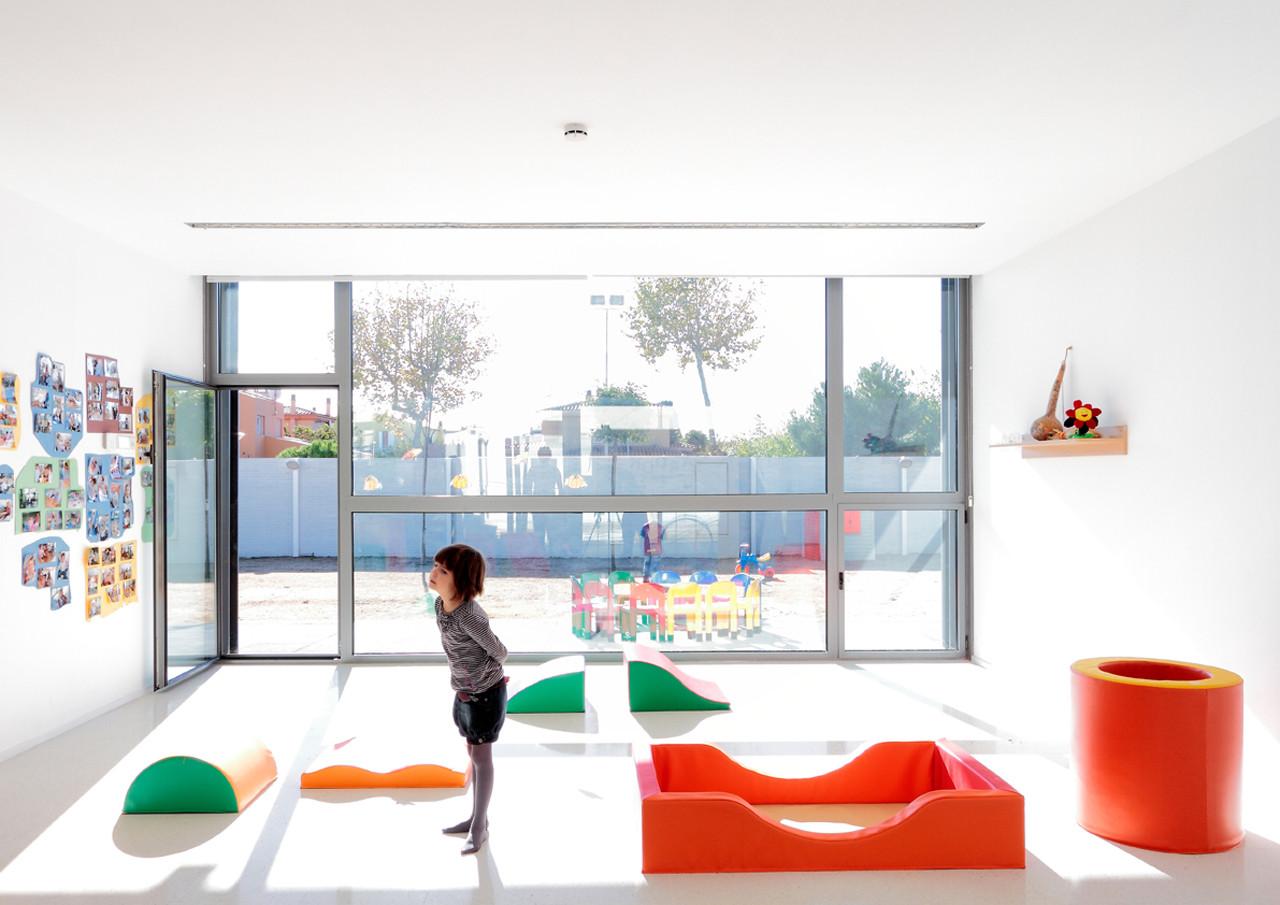 Jardín de Infancia / Abar arquitectos + Ovidi Alum, © Aitor Estévez