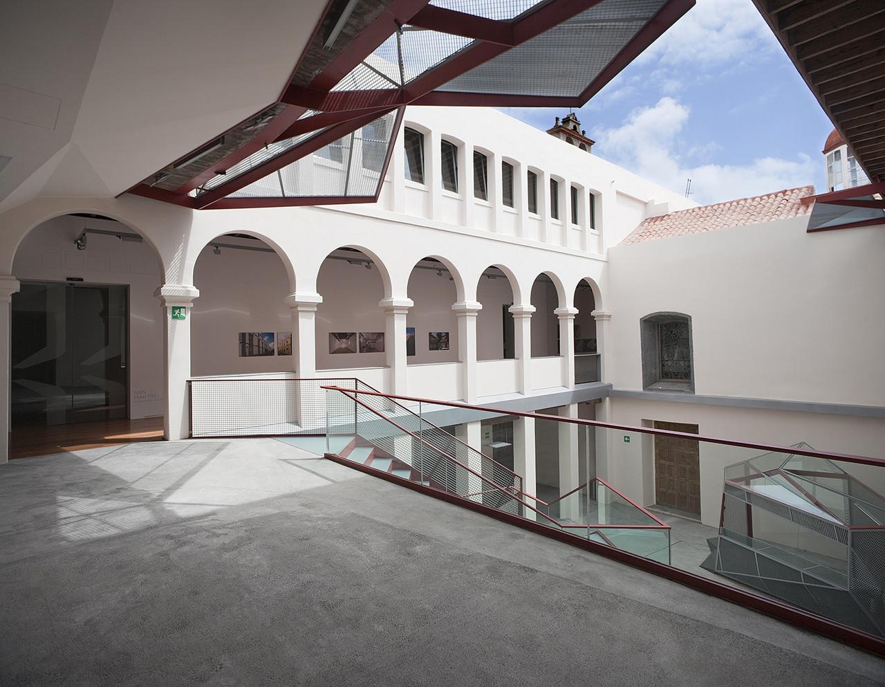 Centro de Cultura Contemporánea San Martín / Casariego - Guerra Arquitectos, © José Oller