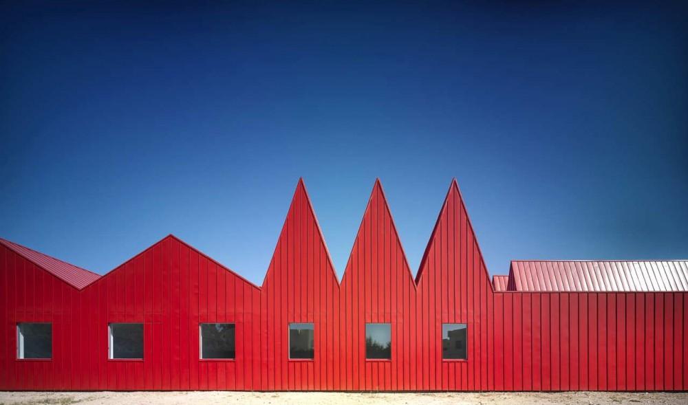 Galer a de m dulos para j venes y talleres ocupacionales for L architecture