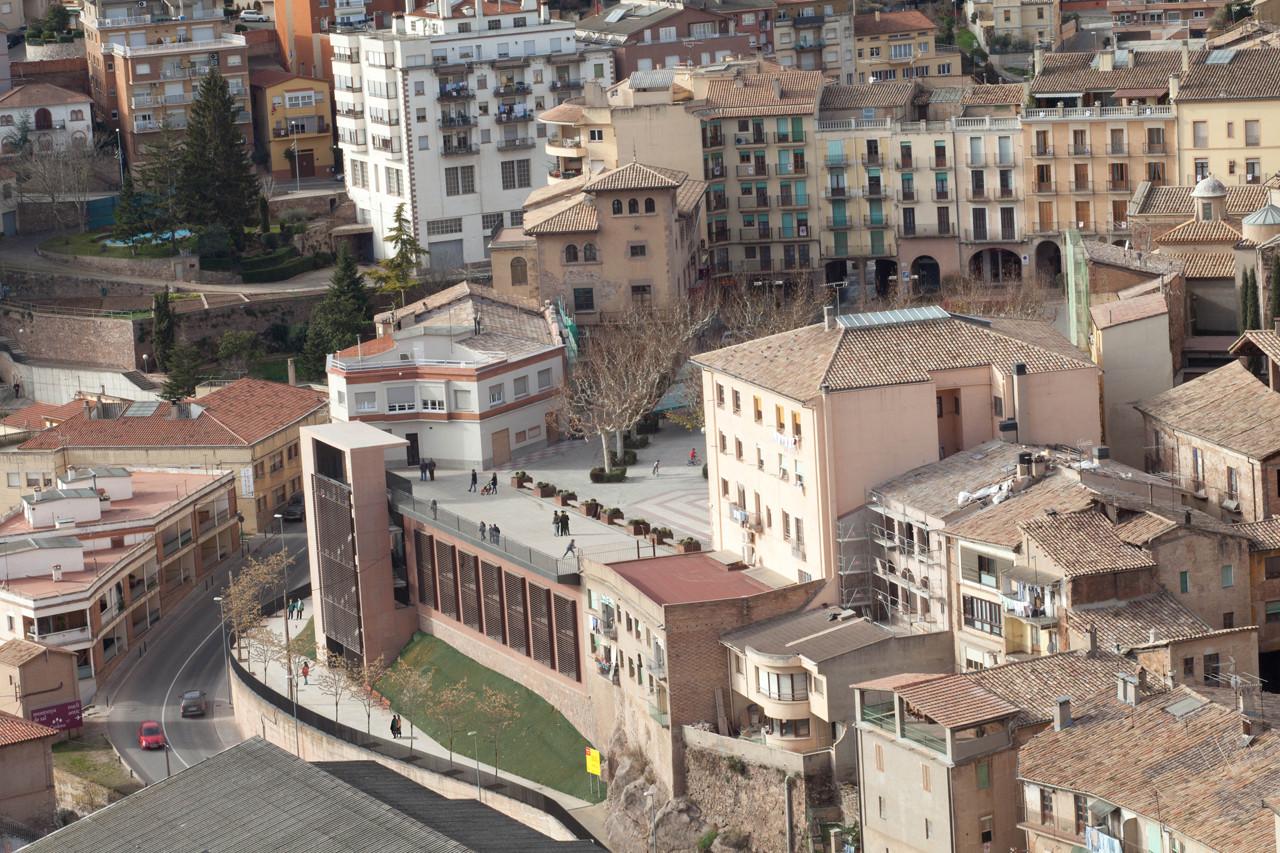 Rehabilitación de Centro Cívico y nuevos accesos al Centro Histórico / Santamaria Arquitectes, © Francesc Rubí
