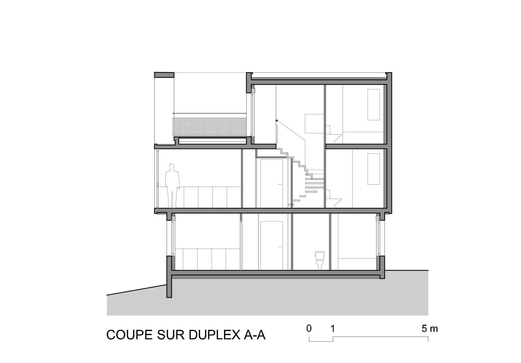 Gallery of 38 Social Housing in Eaubonne / LEM + - 14
