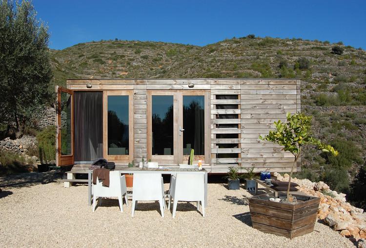 Vivienda unifamiliar prefabricada en madera / Daniel Martí + Jurgen Van Wereld + Karin Giesberts, Cortesía de Daniel Martí