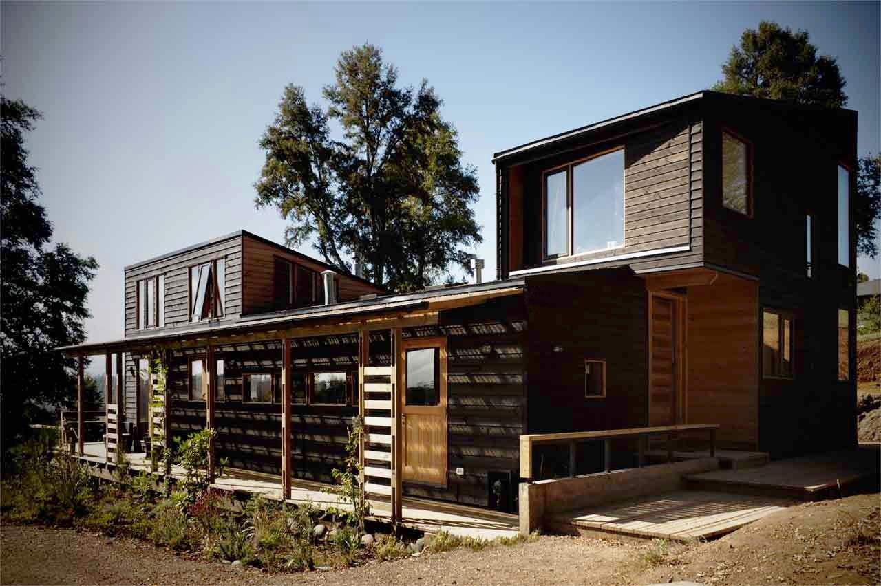Galer a de casa en los guindos dom 13 - Cocheras de madera prefabricadas ...