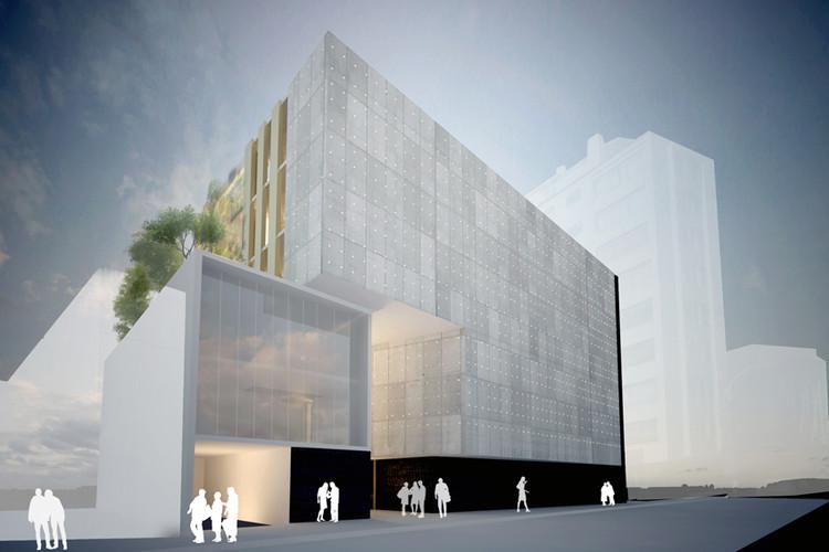 Nuevo Edificio Escuela Ingeniería Bioquímica, PUCV / Dirección de Infraestructura PUCV, Imagen Cortesía de PUCV
