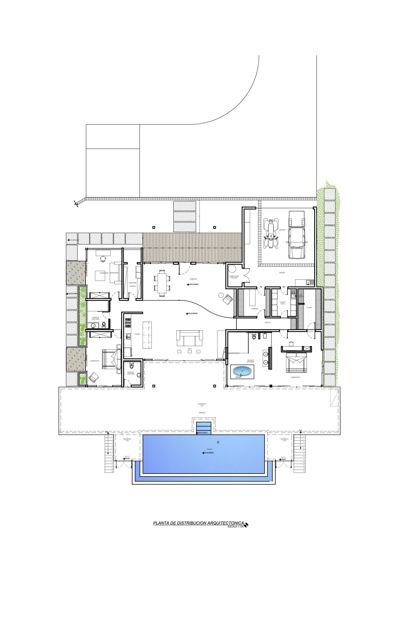 Casa mecano roblesarq plataforma arquitectura for Plantas arquitectonicas de casas