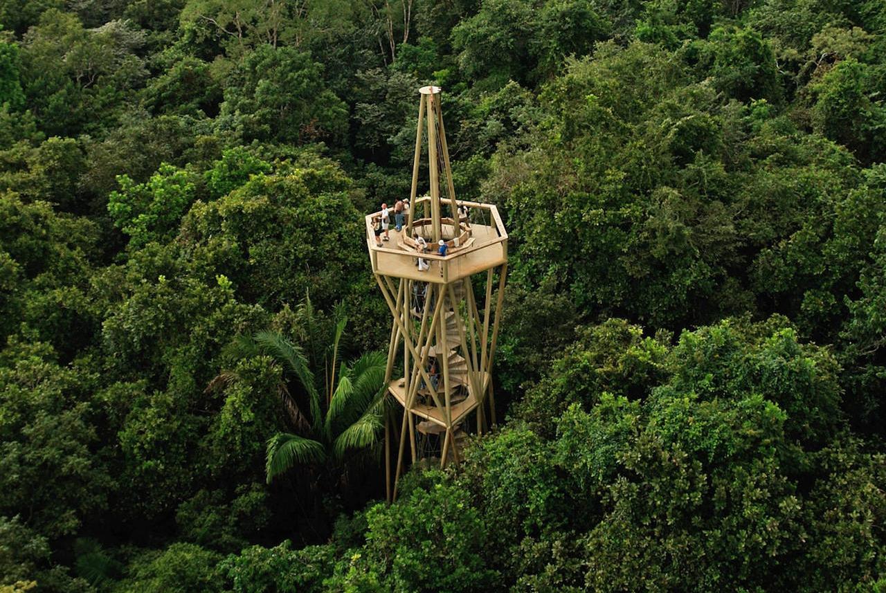 Centro de visitantes, selva de Panamá / ENSITU