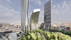 In Progress: CityLife Milano / Zaha Hadid Architects