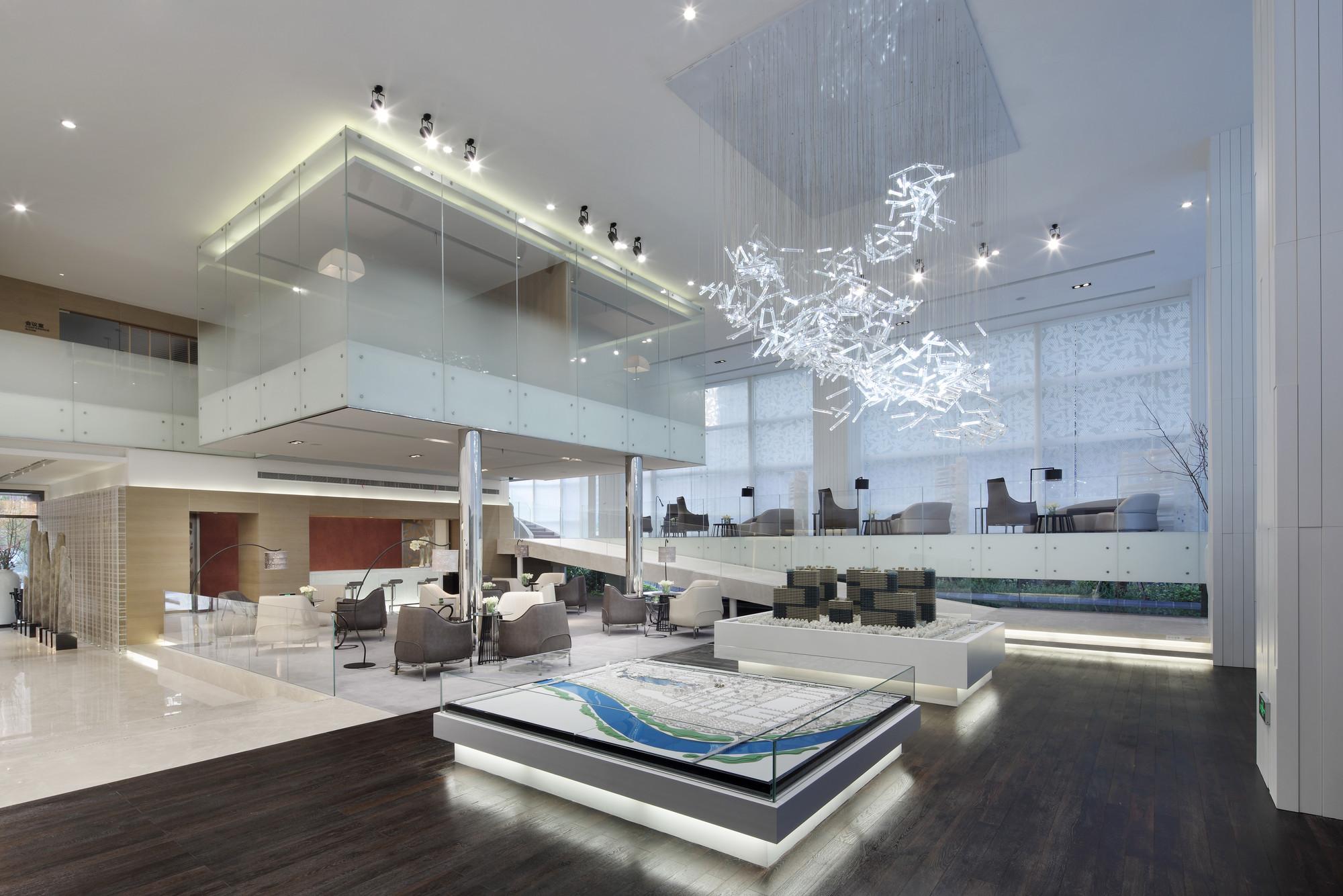 Exhibition Light D Model : Gallery of yuguandi sales pavilion blvd