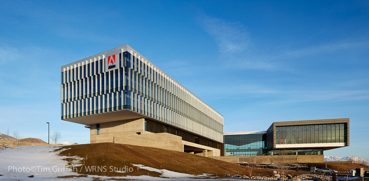 New Adobe Campus in Lehi City / WRNS Studio, © Tim Griffith