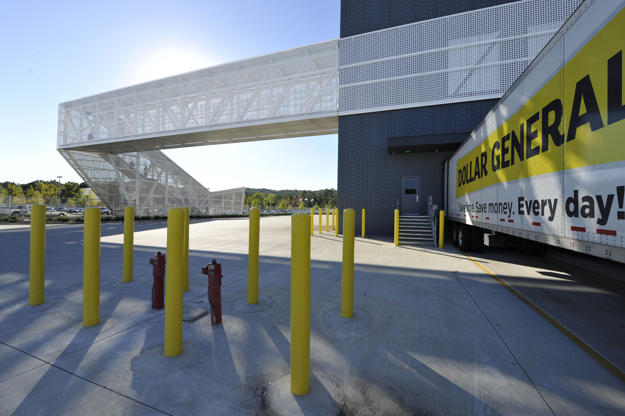 Dollar General Distribution Center Leo A Daly Archdaily
