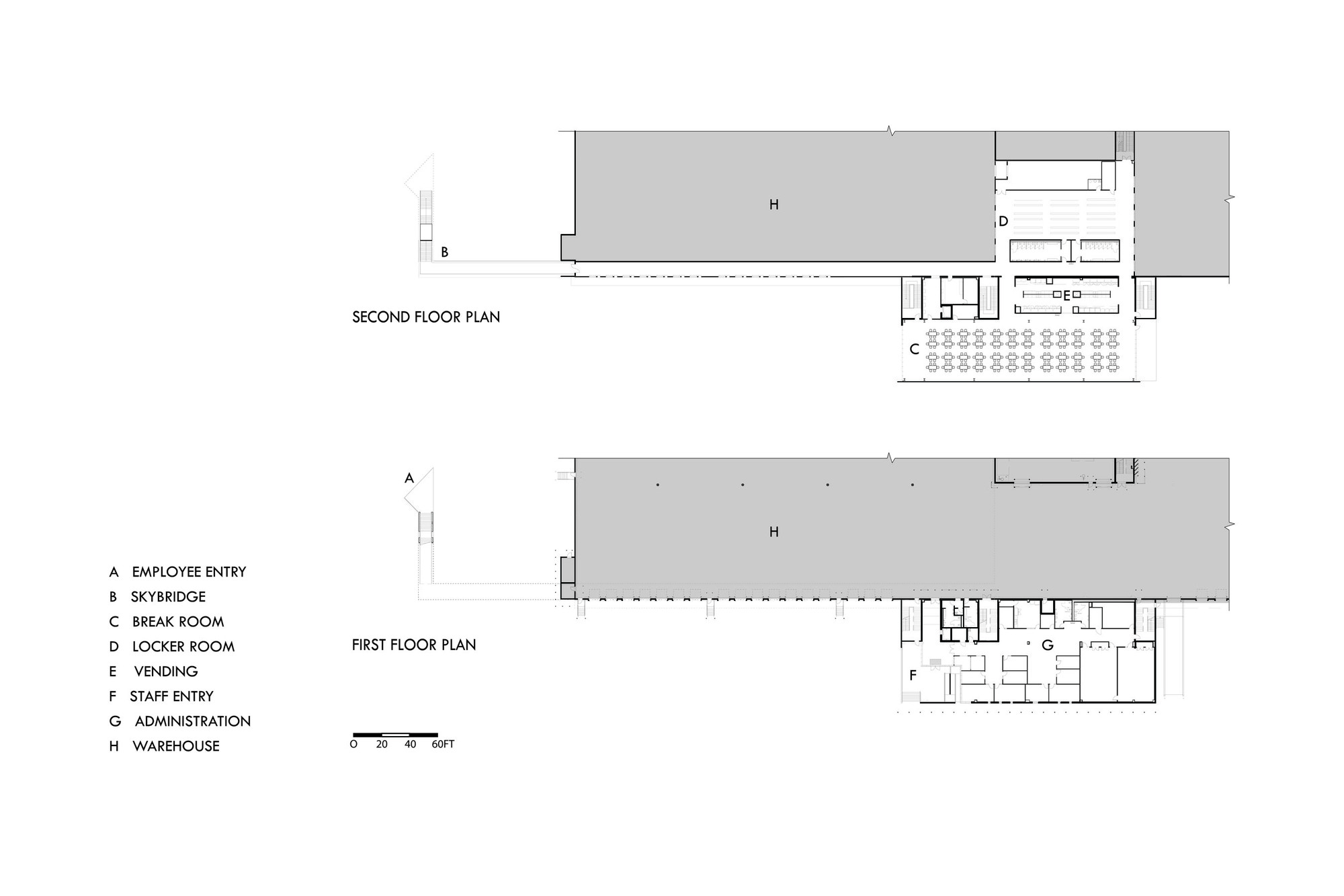 Dollar general distribution center leo a daly archdaily for Floor plan agreement