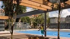 Van Beuningenplein / Concrete