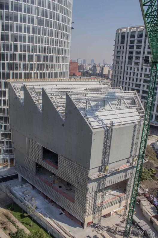 Em Construção: Avanços do Museu Jumex por David Chipperfield Architects, Cortesia de Colección Jumex, México