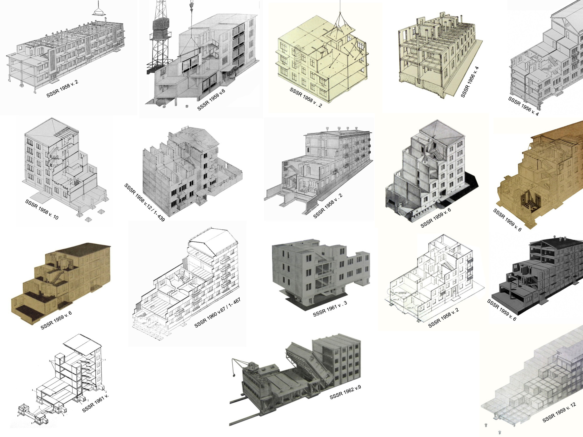 Pratt Explores the Importance of Cold War Era Pre-Fabricated Building Systems , Housing Prototype Systems; Courtesy of Pedro Alonso