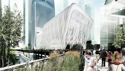 Diller Scofidio + Renfro projetou um Galpão Cultural Telescópico para Nova York