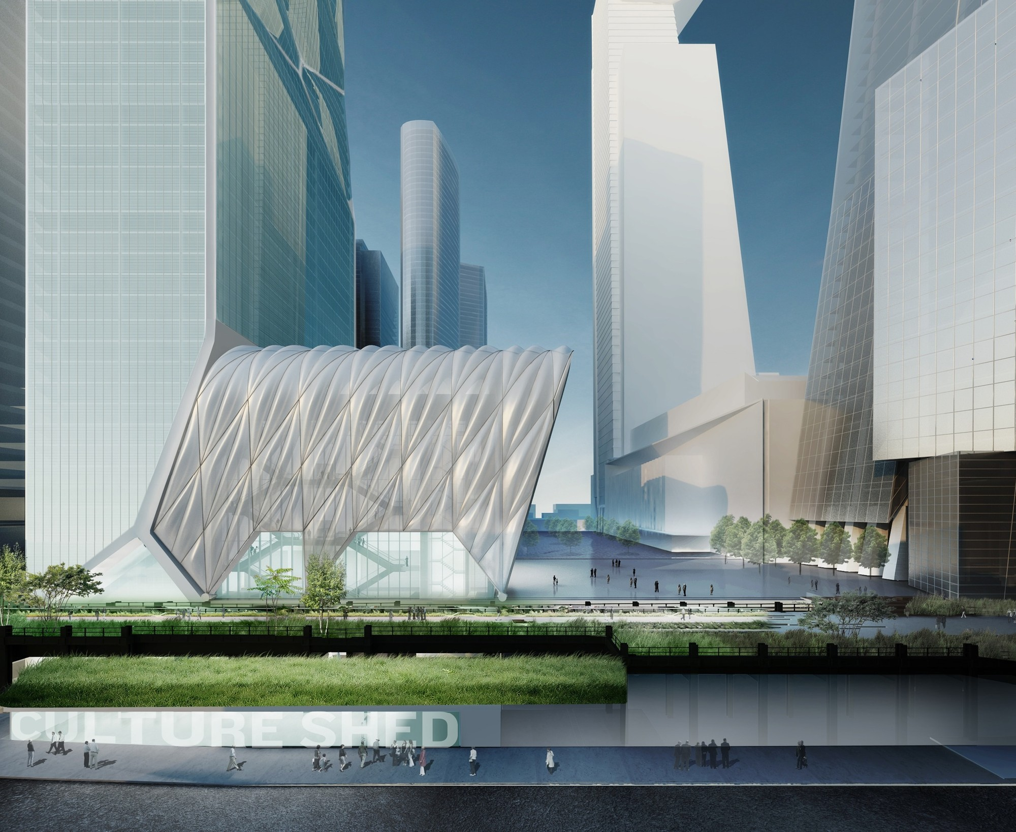 Gallery Of Diller Scofidio Renfro Designs Telescopic Culture Shed For New York 2