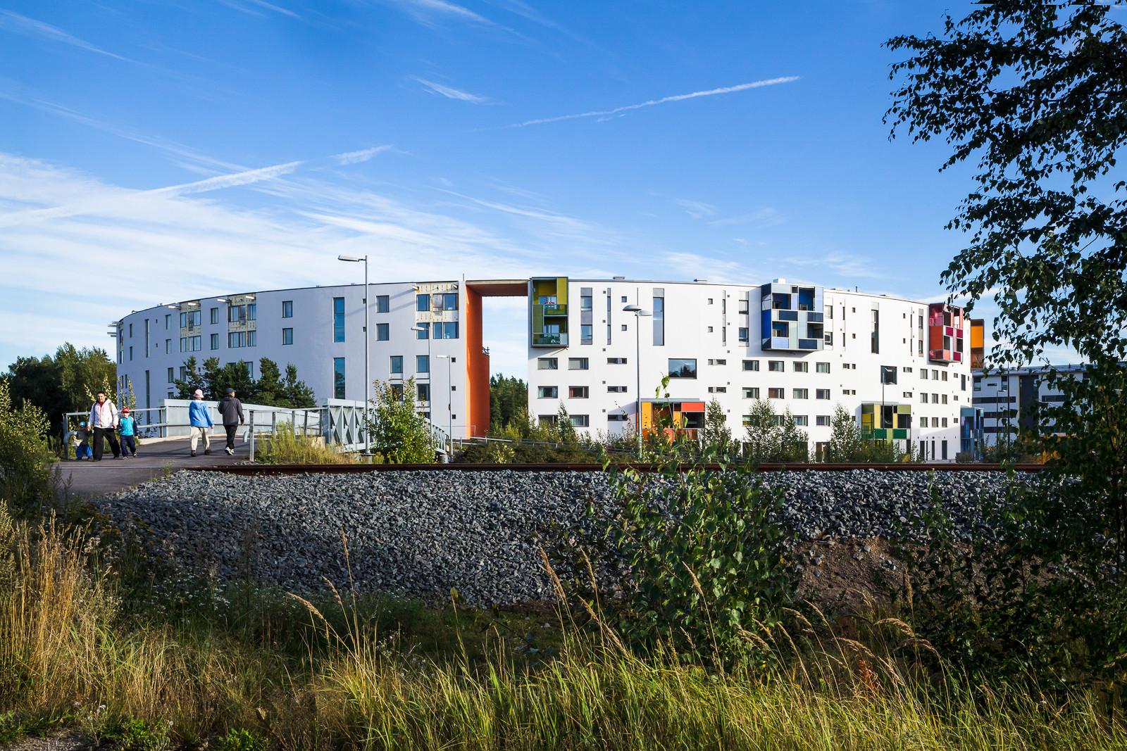 Rainbow Housing Project / ARK-house Architects, © Tiia Ettala