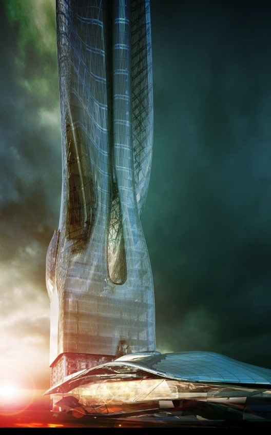 Office Tower and Exhibition Center Proposal / MA2, Courtesy of MA2