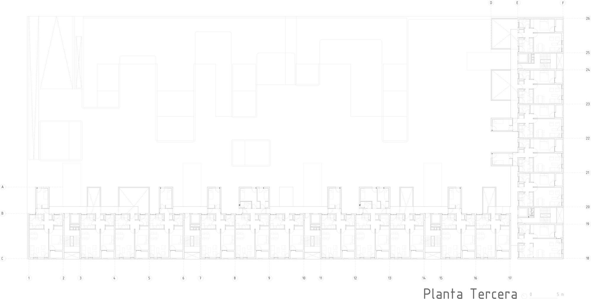 102 Viviendas En Carabanchel Dosmasunoarquitectos Plataforma  # Barre Duque Muebles