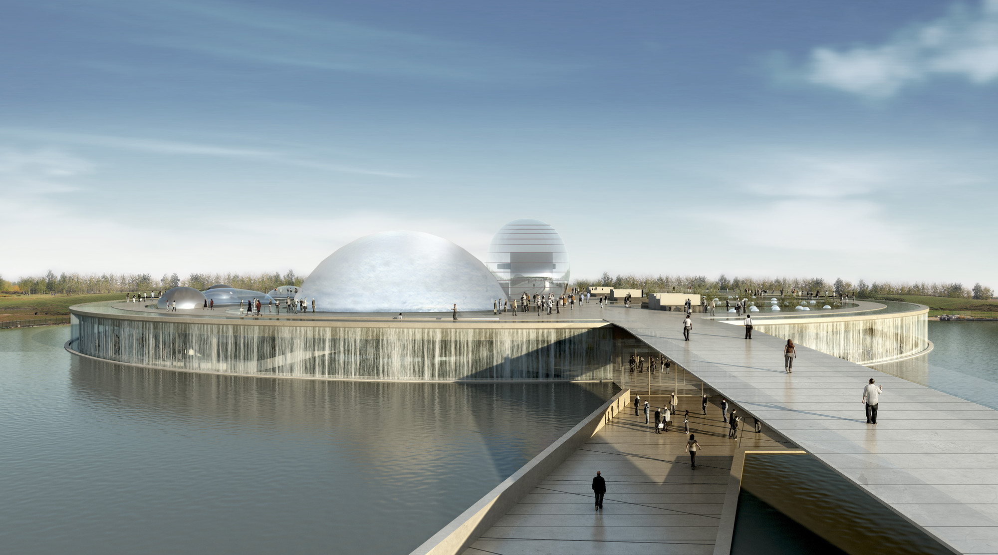 Science and Technology Museum in Beijing / BL/KLM Architects + BIAD, © Atelier Federico Raponi