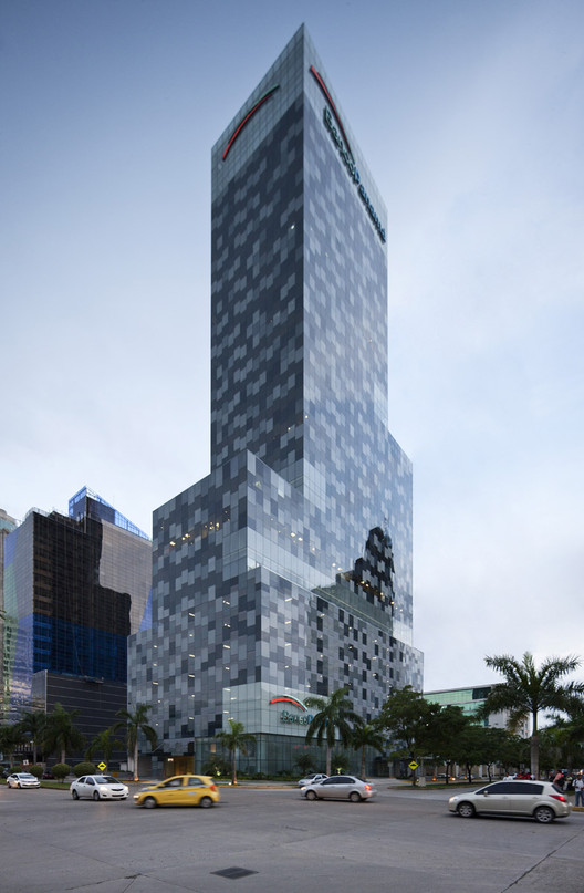 Torre Banco Panamá / Herreros Arquitectos, © Fernando Alda