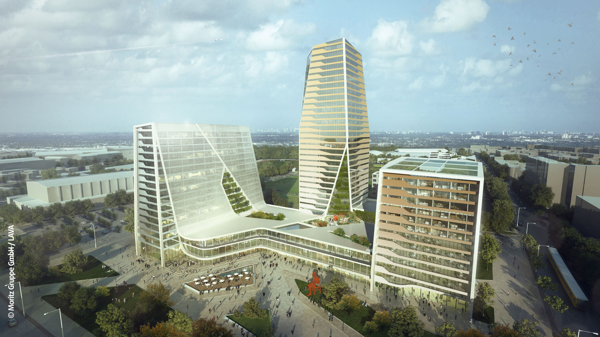 'THE:SQUARE³' Mixed-Use Development Proposal / Moritz Gruppe + LAVA, Courtesy of Moritz Gruppe + LAVA