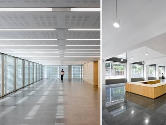 Galer a de inauguran edificio de oficinas de la seguridad for Oficinas seguridad social barcelona horarios
