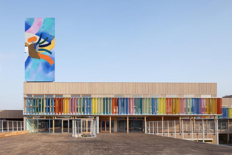 Groupe Scolaire Pasteur / R2K Architectes, © Jussi Tiainen