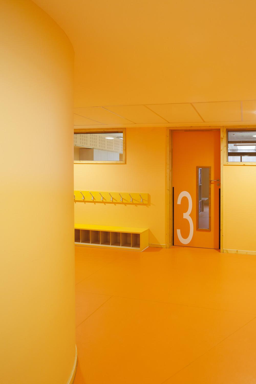 galeria de groupe scolaire pasteur r2k architectes 5. Black Bedroom Furniture Sets. Home Design Ideas
