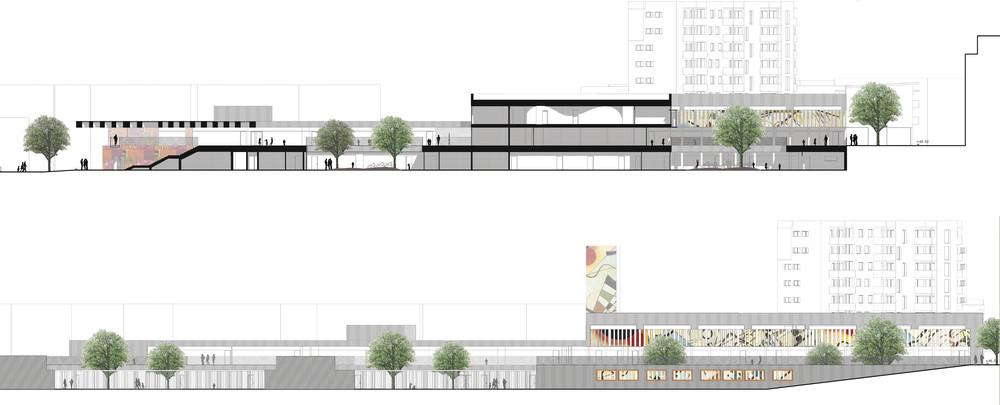 gallery of groupe scolaire pasteur r2k architectes 15. Black Bedroom Furniture Sets. Home Design Ideas