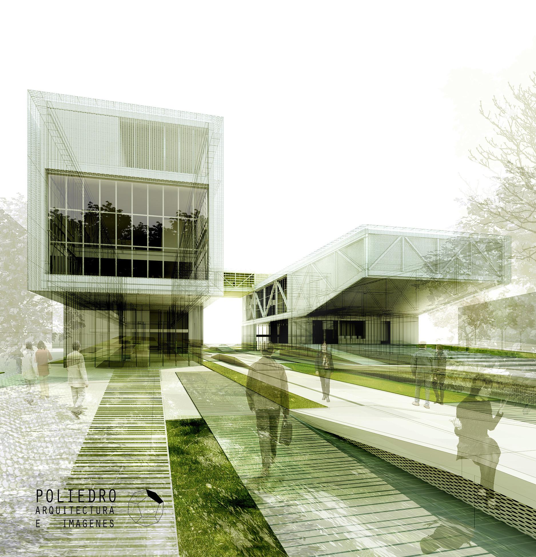 Visualizaci n en arquitectura poliedro archdaily m xico - Arquitectos en valladolid ...
