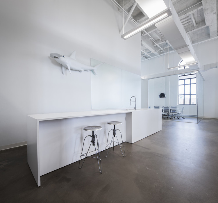 Oficinas BLUE Communication / Jean Guy Chabauty y Anne Sophie Goneau, © Stéphane Groleau