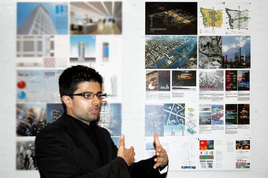 Arpan Bakshi, the sustainability manager for OMA's Essence Financial Building. Image via Arpan Bakshi.